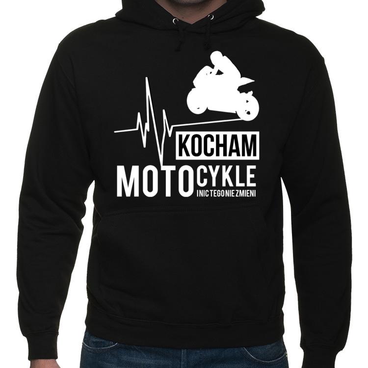 7f0277014 Kocham motocykle i nic tego nie zmieni - Bluza motocyklowa ...